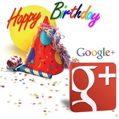 Happy Birthday Google Plus - Most Popular Social Media Site