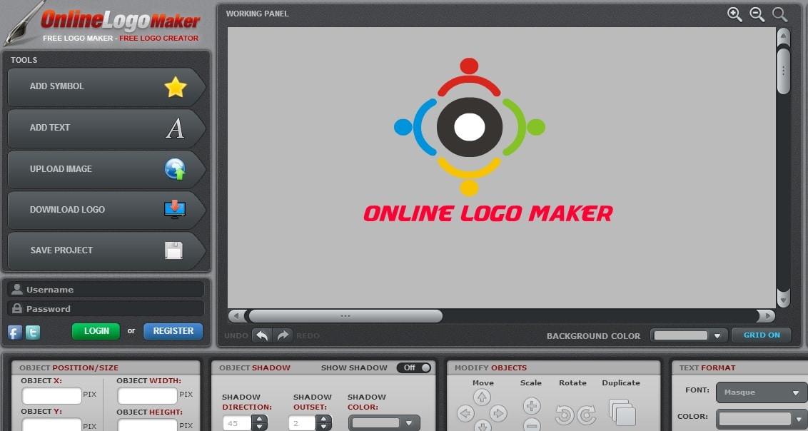 Online Logo Maker - Free Logo Maker to Create Custom Logo - Facebook Logo Maker