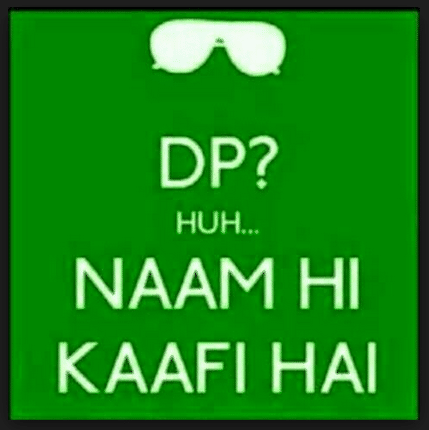 No-DP-Naam-Hi-Kafi-Hai-WhatsApp-DP