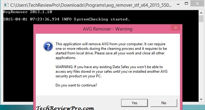 Download AVG Removal Tool 2015