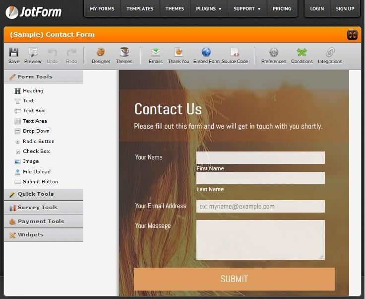 JotForm - Powerful Online Form Builder