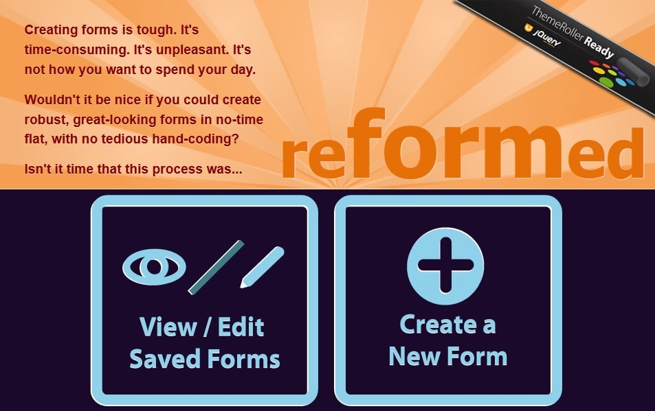 reFormed - Free Online HTML5 Themeable Form Generator