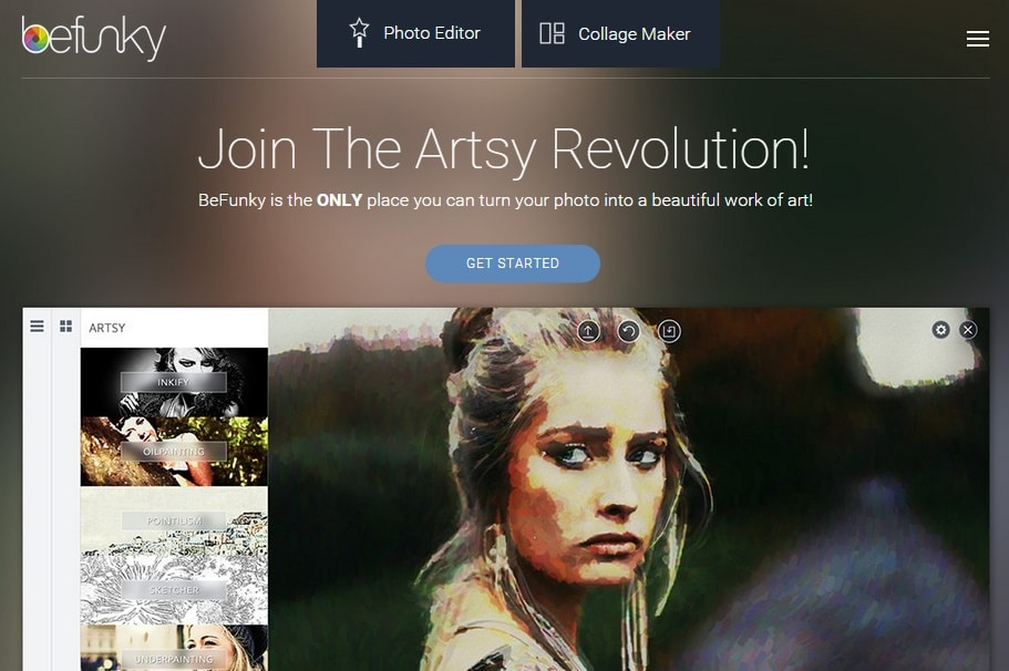 BeFunky - Free Online Photo Editing and Collage Maker to Create Cartoon Art