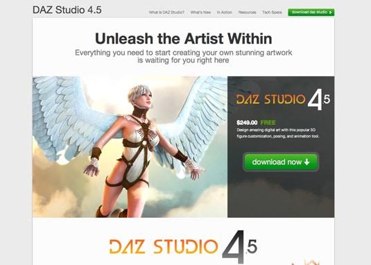 Daz-Studio - 3D Software for Windows Mac - 3D Modelling 3D Animation