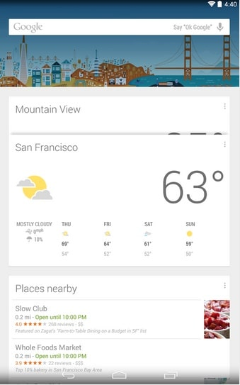 Google Now Tips and Tricks Voice Commands for Weather Information