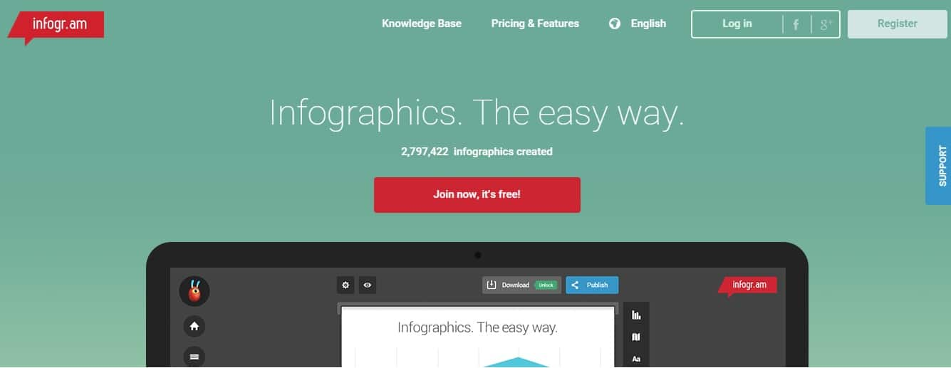 Infogr.am - Create Infographics and Online Charts in Easy Way - Learn How to Create an Infographic