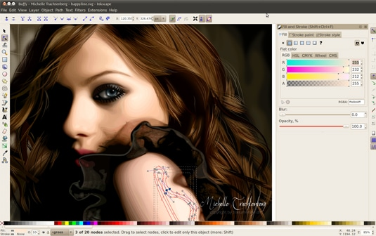 Inkscape - Professional Free Vector Graphic Design Software for Windows-Linux