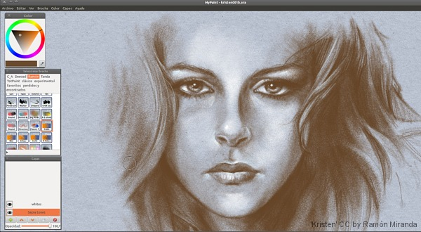 MyPaint -Open Sorce Free Graphic Applications