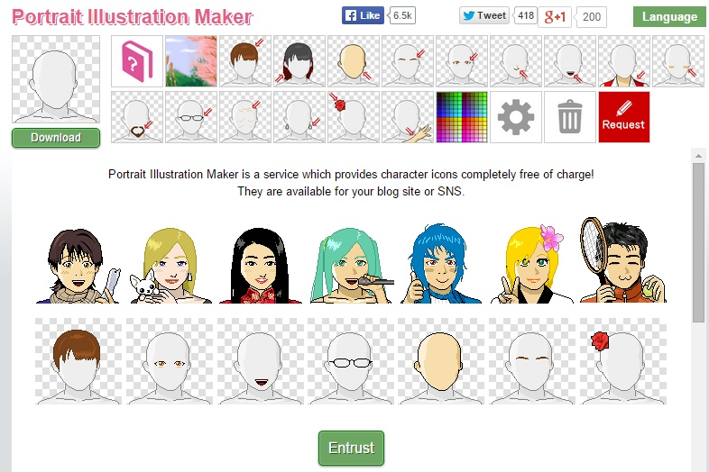 Portrait Illustration Maker - Free Cartoon Avatar Generator : 17+ Excellent Websites to Create Your Own Cartoon Character - Cartoonize Yourself
