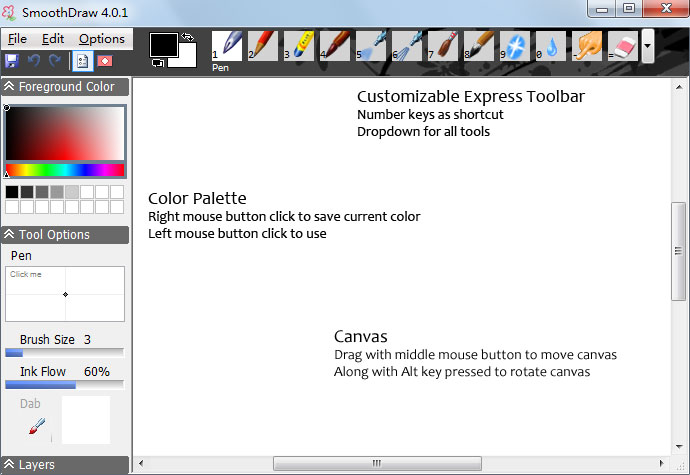 SmoothDraw - Sketch Paint and Cartoons for Free