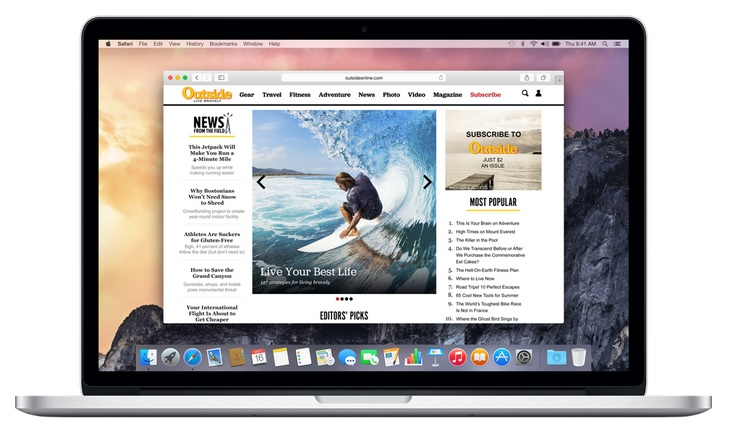 Apple Safari - Default Official Internet Browser for Mac
