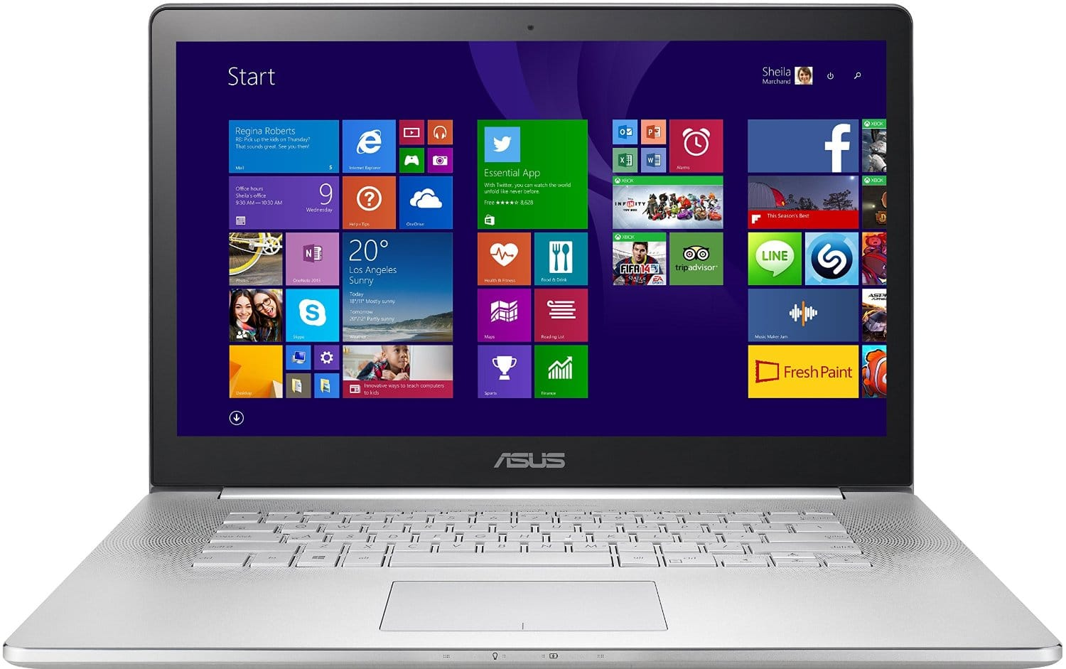 Asus Zenbook 15.6-inch - Best Laptop for Medical Students 2015