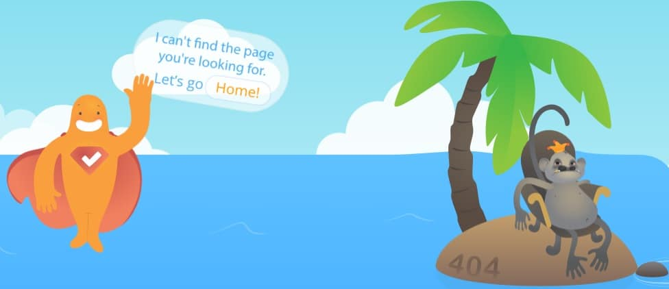 Creative 404 Not Found Error Page Design Ideas