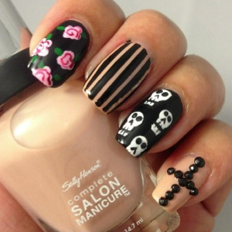 Free-hand-Halloween-nails-designs-ideas