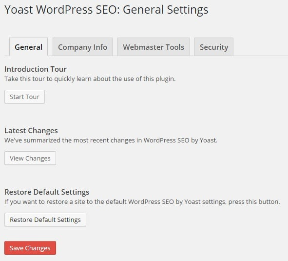 How to Set Up WordPress SEO by Yoast - General Settings
