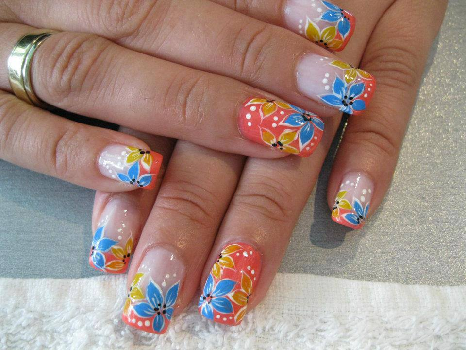 Nails Design Ideas best 20 acrylic nail designs ideas on pinterest acrylic claw nails acrylic nails and fall acrylic nails Multi Color Cute Nail Designs Art