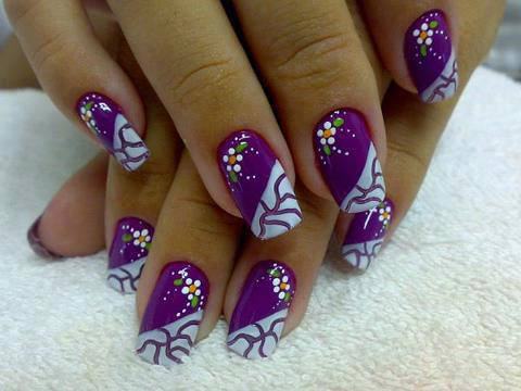 Multi-Color-Top-Nail-Designs-Art-Cute-Nails