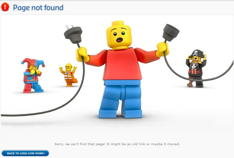 Page Not Found - 404 Error Page Design