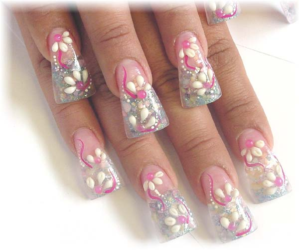 Pretty Acrylic Nail Designs Ideas