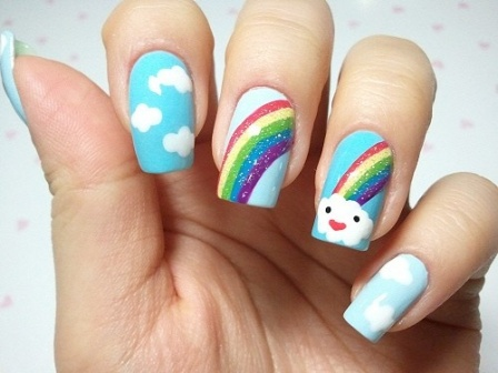 Rainbow-nail-design-art-ideas