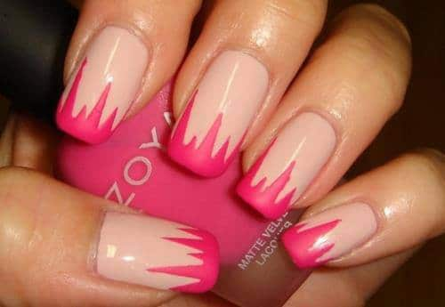 Two-Color-Simple-Nail-Designs-Art