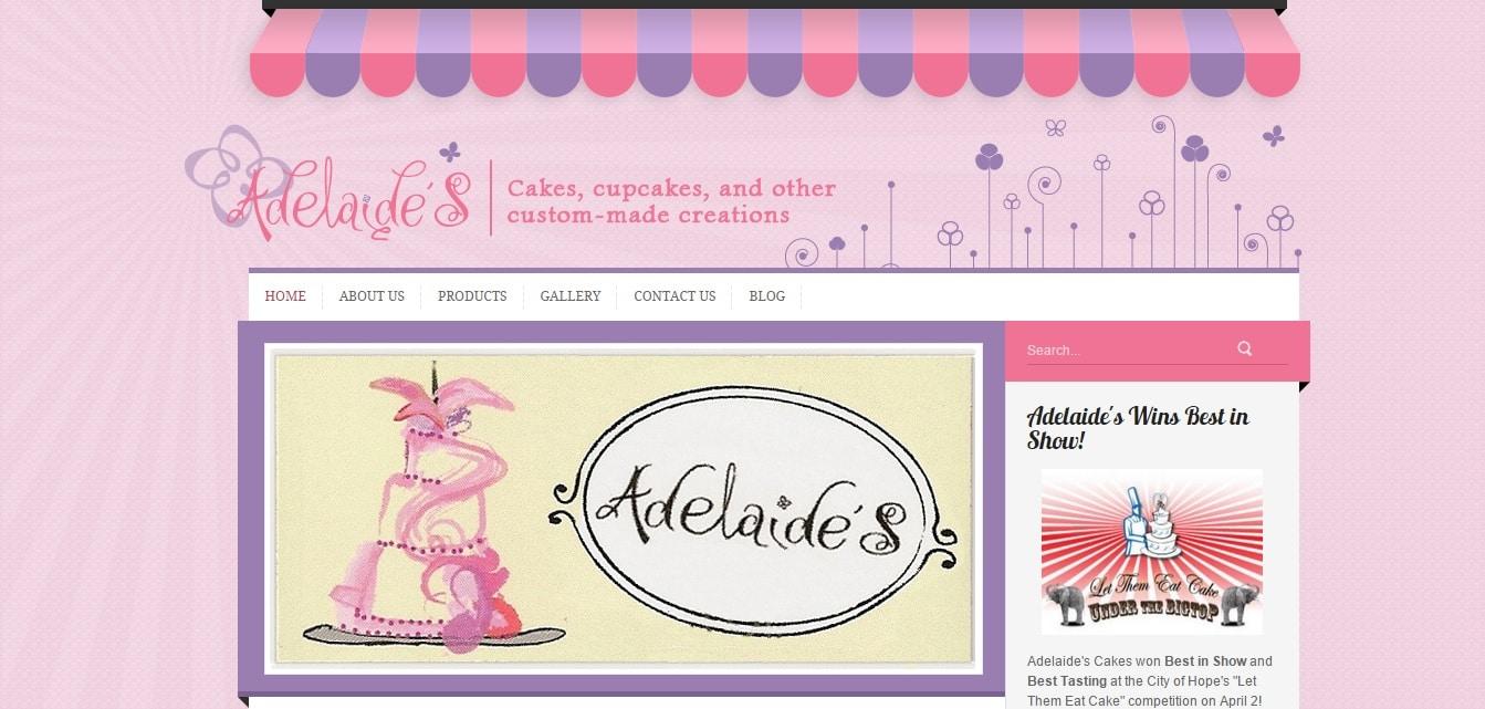 Cake websites