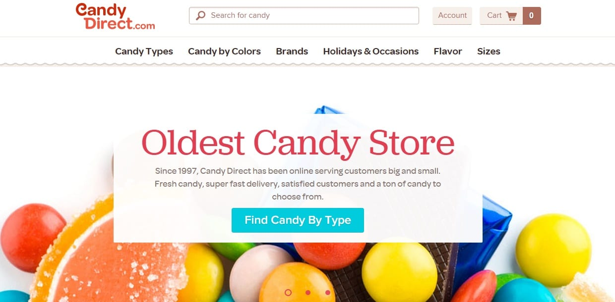 Candy Direct Vintage Candy - Oldest Candy Shop Online