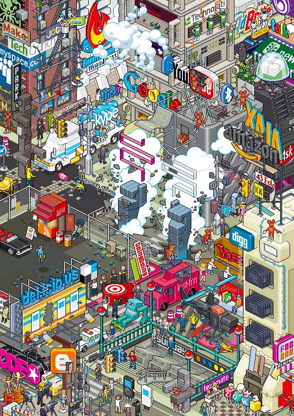 Cartoon iPhone Wallpaper