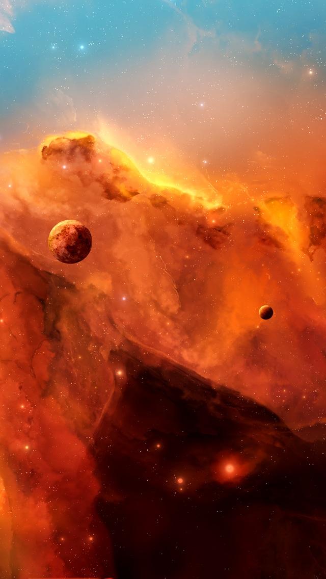 Space Wallpaper, iPhone cloud wallpaper