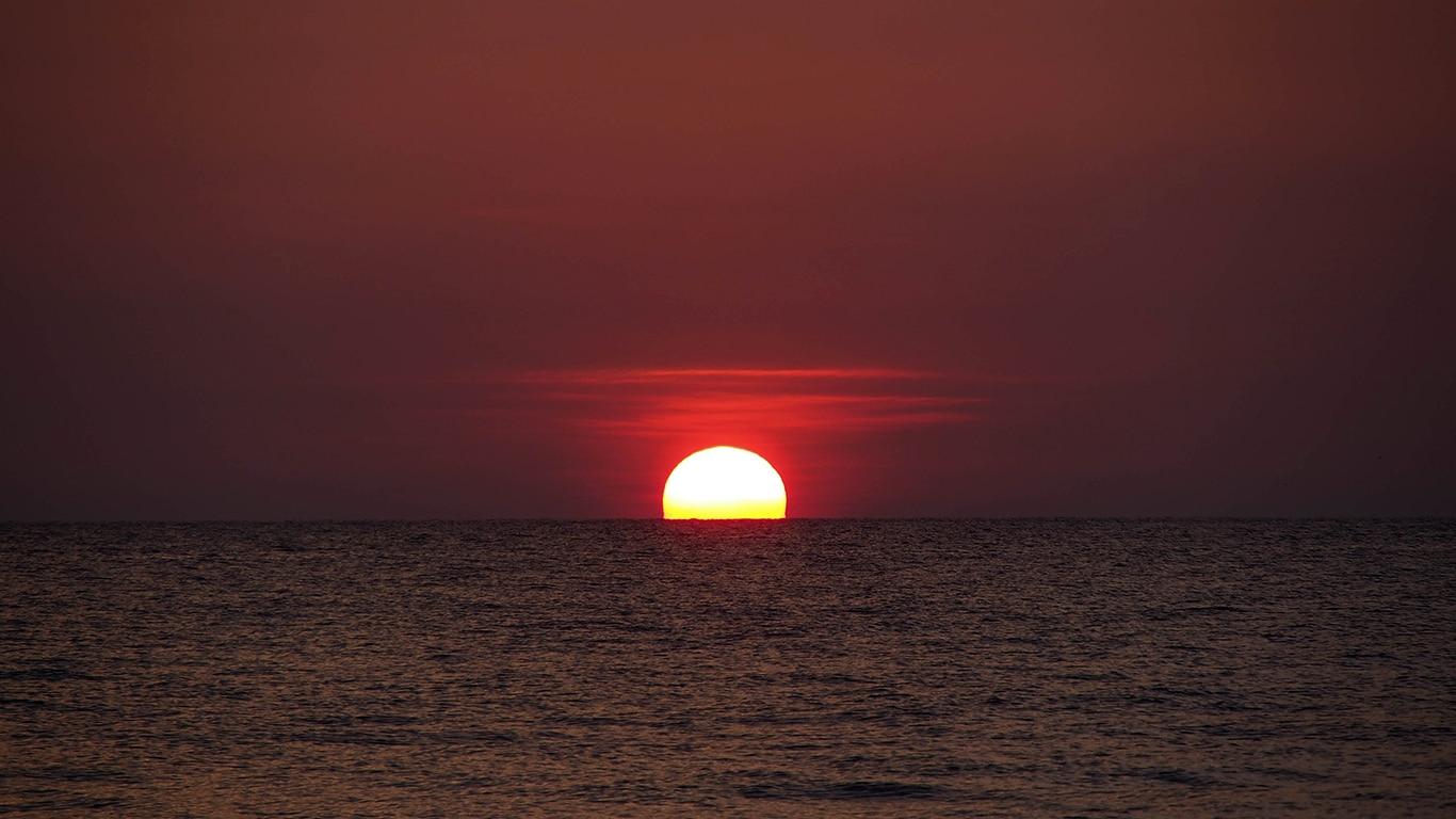 sunset hd cool desktop backgrounds
