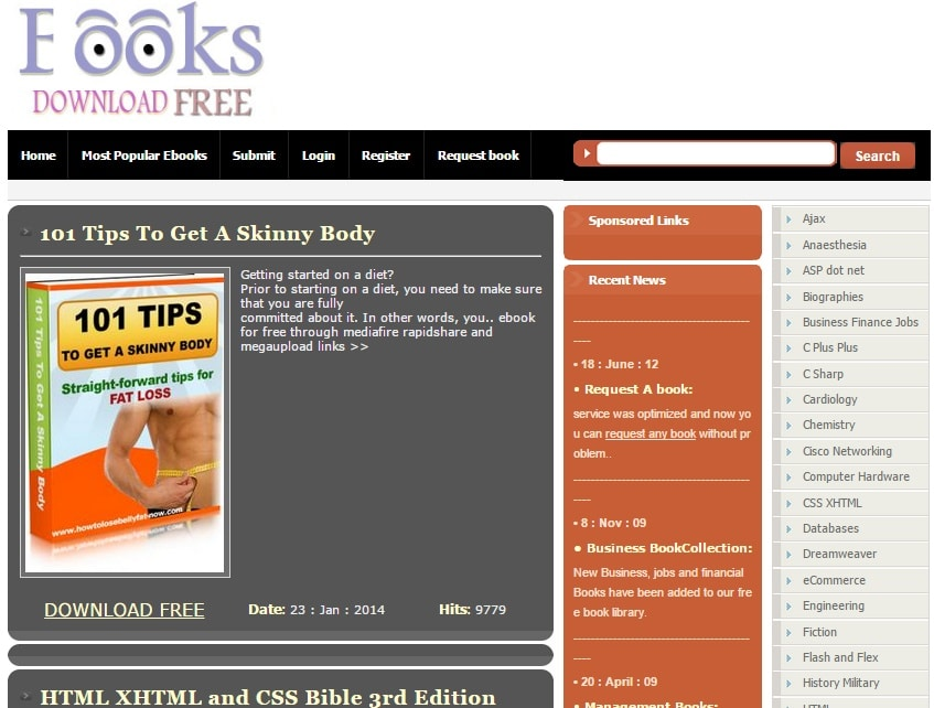 eBooks Download Free - Free eBook Download Site for Downloading Free eBooks
