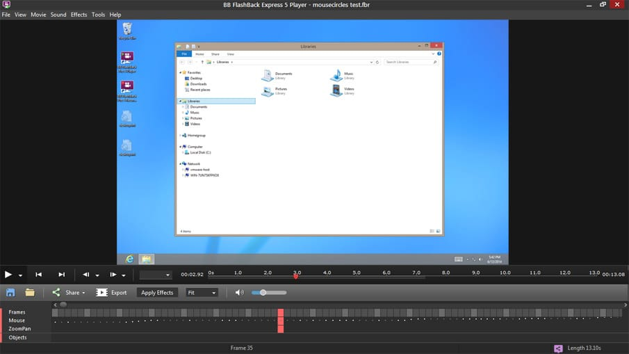 BB Flash Express Free Screen Recorder [Free] - Recording On-Screen Manipulations