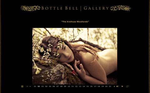 Bottle Bell Photography Website Design Ideas for Photographer Portfolio