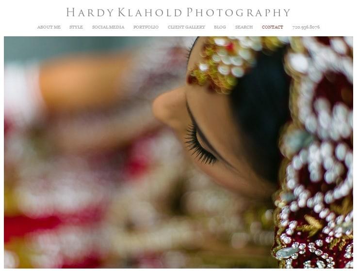 Hardy Best Photography Websites Portfolio Design