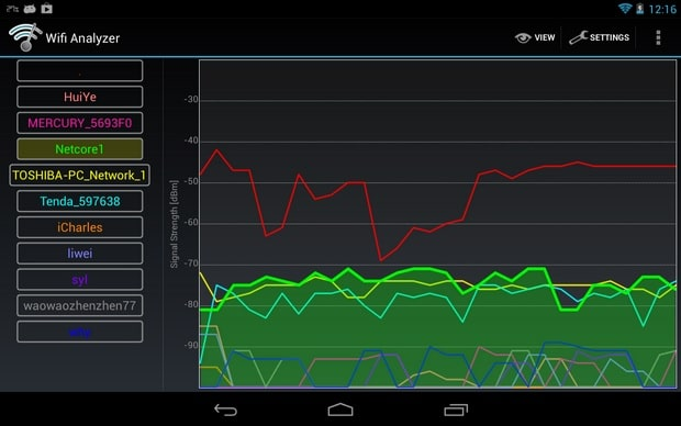 Wifi Analyzer App for Android - Best Free Android Wifi App - Android Signal Strength Booster App