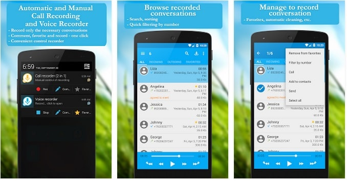 Call Recorder Free - Best App to Record Phone Calls on Android - Free Audio Voice Recorder