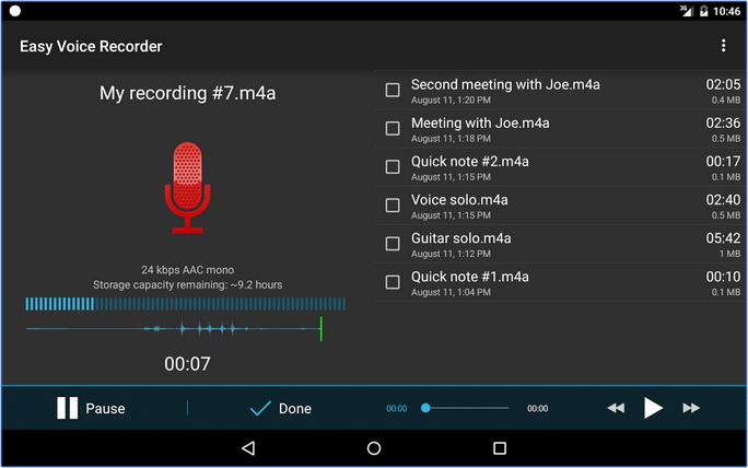Easy Voice Recorder - Best Android Call Recorder App to Record Calls on Android for Free