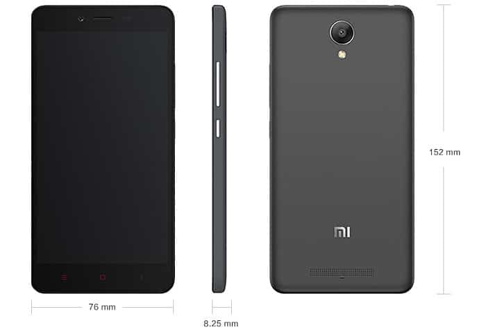 Best Budget 4G Android Phaplet - Xiaomi RedMi Note 2