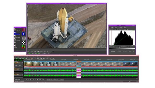 Cinelerra - Best Free Video Editing Software for Linux - Best Linux Video Editor