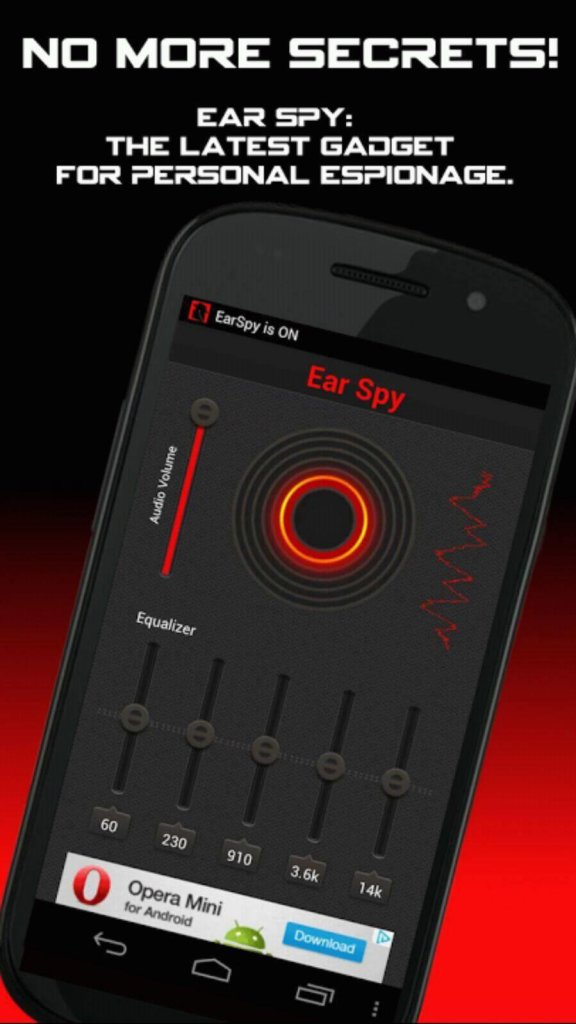 Ear Spy - best free spy app for android for spying friends