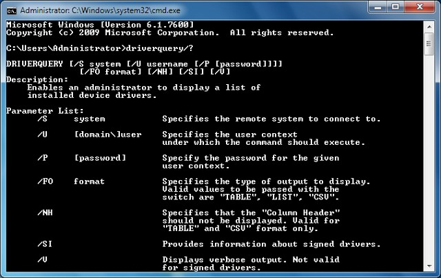 Helping command prompt trick to get help on all commands in Windows
