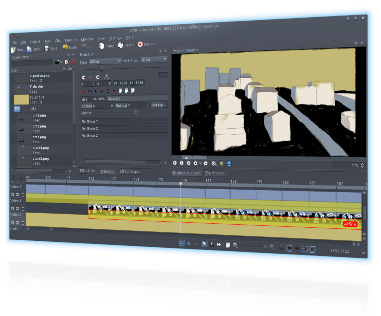 Kdenlive - Open Source Free Video Editing Software for Mac OS X, Linux