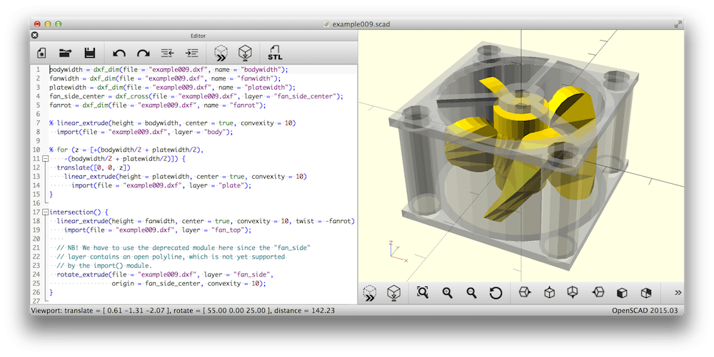 OpenSCAD - Best Free CAD Software for Beginners - free 3d animation software for Mac