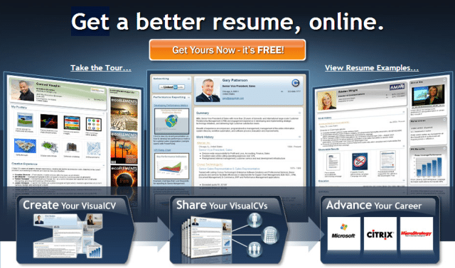 visual cv best online resume builder free printable best free resume maker best - Resume Builders For Free