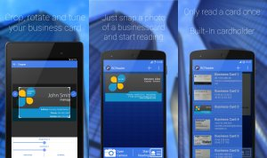 business-card-reader best free business card scanning and designing app for android