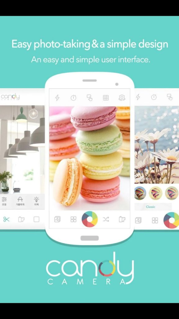 Candy Camera for Selfie - Best Free Android Camera App for Selfie Addicts