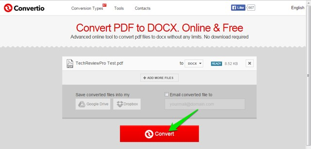 How to Convert PDF to DOCX Online for Free - Free PDF to Docx Converter Tools