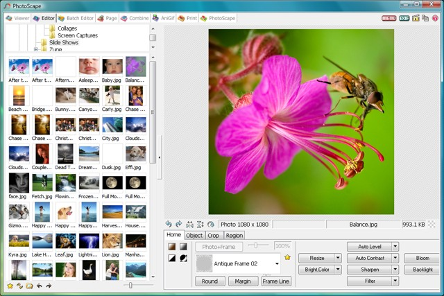 photoscape: Edit multiple photos on Windows - Free Photo Editing Software for Windows