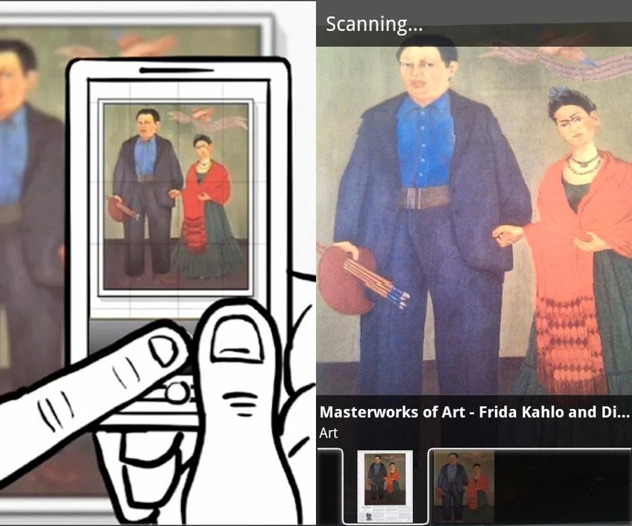 Google Goggles - Reverse Image Search App for Android Users to Find Images by Scanning