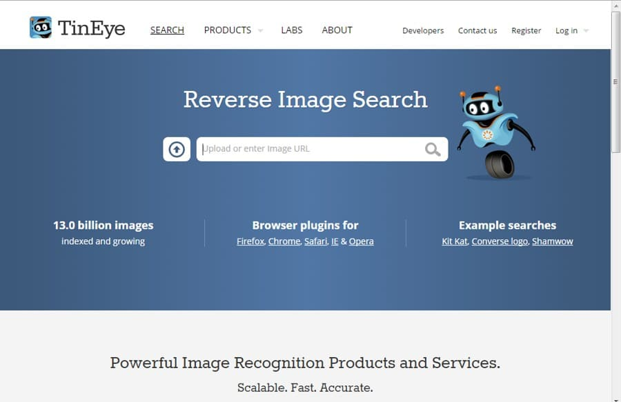 TinEye - Reverse Image Search Engine for Searching Images
